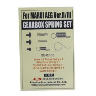 Guarder Gearbox Spring Set V2/V3