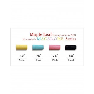 Maple Leaf Macaron Hop Rubber Bucking 70 Degrees (AEG)