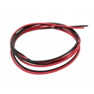 Gearbox 16AWG 2 Metres Red & Black Wire