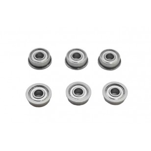 J-Caged 8mm Bearings 3x8x3 (Pack of 6)