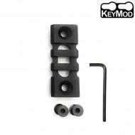 Keymod Light-weight 3-Slot 50mm Picatinny Rail Section