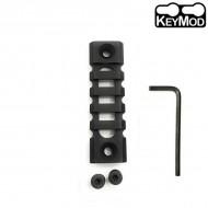 Keymod Light-weight 5-Slot 75mm Picatinny Rail Section