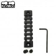 Keymod Light-weight 7-Slot 90mm Picatinny Rail Section